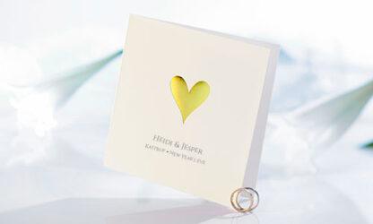 Bröllopsinbjudan Romantico